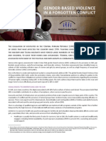 CAR GBV AoR Advocacy Brief En