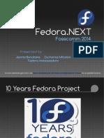 Fedora Next