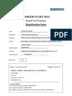 Student Registration Form