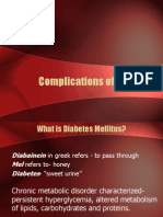 Complications of Diabetes 4231
