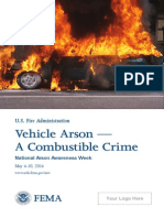 Arson Awareness Week 2014