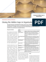 Closing the Hidden Gaps in Organisations - Four Groups