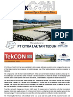 Tekcon - Spun Piles Properties