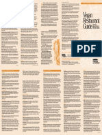 Vegan Restaurants Guide (San Francisco) 2015