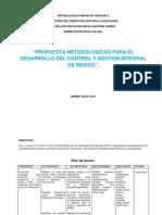 Control y Gestion Integral de Riesgo