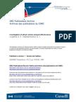 Investigation of atrium smoke exhaust effectiveness