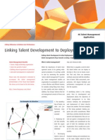 Linking Talent Development to Deployment - Four Groups