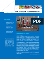 Second edition of Institute of Latin American Studies Newsletter (ISLA)