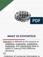 Descriptive Statistics (1)