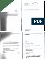 Akrich de Scription of Technical Objects