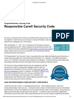 Responsible Care Security Code