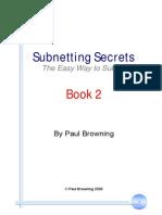 Subnetting Secrets Book 2