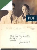 Allison Benjamin Edith 1948 Philippines