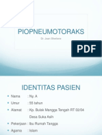 Preskas Medik - Piopneumotoraks