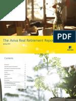 The Aviva Real Retirement Report - Spring 2014