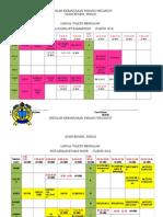 Jadual Waktu Mengajar Sabri 2013