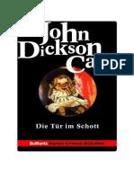 Carr, John Dickson - Die Tür Im Schott