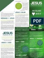 Jesus A Prophet of GOD ( Muslims Jesus )