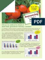Test result of Apsa 80 on Tomato