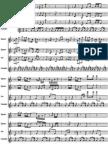 Mario theme sheet music