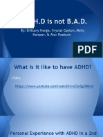 curriculum project adhd
