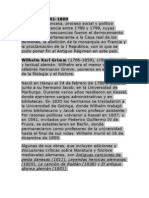 Biografías de Wilhelm y Jacob Grimm y Charles Perrault