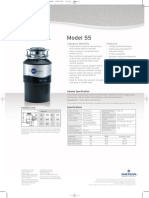 InSinkErator Model 55 Food Waste Disposer