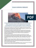 Bencana Alam Letusan Gunung Krakatau