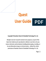 Quest User Guide