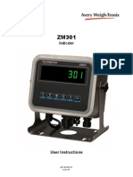 Avery Weigh Scale ZM301 Users Manual