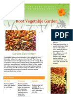 root vegetable garden