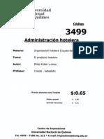 cod03499 - PRODUCTO HOTELERO