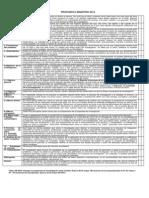 Carateristicas de La Propuesta 2014