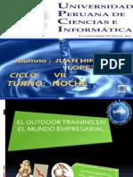 El Outdoor Training en El Mundo Empresarial