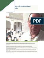 01/05/14 Noticiasnet Incrementa Riesgo de Enfermedades Gastrointestinales