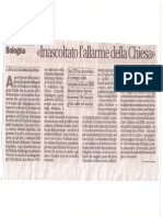 Avvenire - Inascoltato Allarme - 27 Gennaio 2013