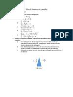 Ficha de Sistemas de Equações - Marta