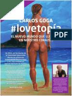 lovetopía - póster DIN A2