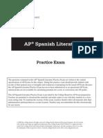 AP Spanish Literature