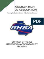 GHSA Accountability Handbook