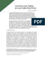 Una Política Cultural Para Una Cultura Política Do c