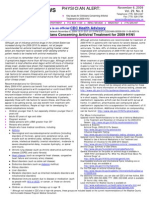 2009-11-06 CDC HAN - Key Issues for Clinicians Concerning Antiviral TX for 2009 H1N1