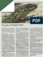 SCIBERRAS-(2010)-Reptiles at Hagar Qim