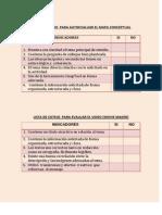 listas de cotejo y rbricas de evaluacin dengue