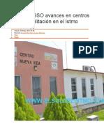 03/05/14 elsoldelistmo Informa SSO avances en centros de rehabilitación en el Istmo