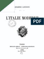 Balleyguier Eugene - L Italie Moderne