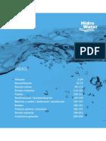 Tarifa Hidro Water Residencial 2014 ENVIO