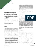 Aedo - Est Social y Proyectos de Vida en Chile