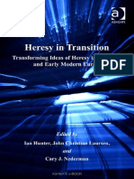 Hunter, Laursen, Nederman, Heresy in Transition_ Transforming Ideas of Heresy in Medieval and Early Modern Europe