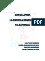 Manual Para La Escuela Dominical